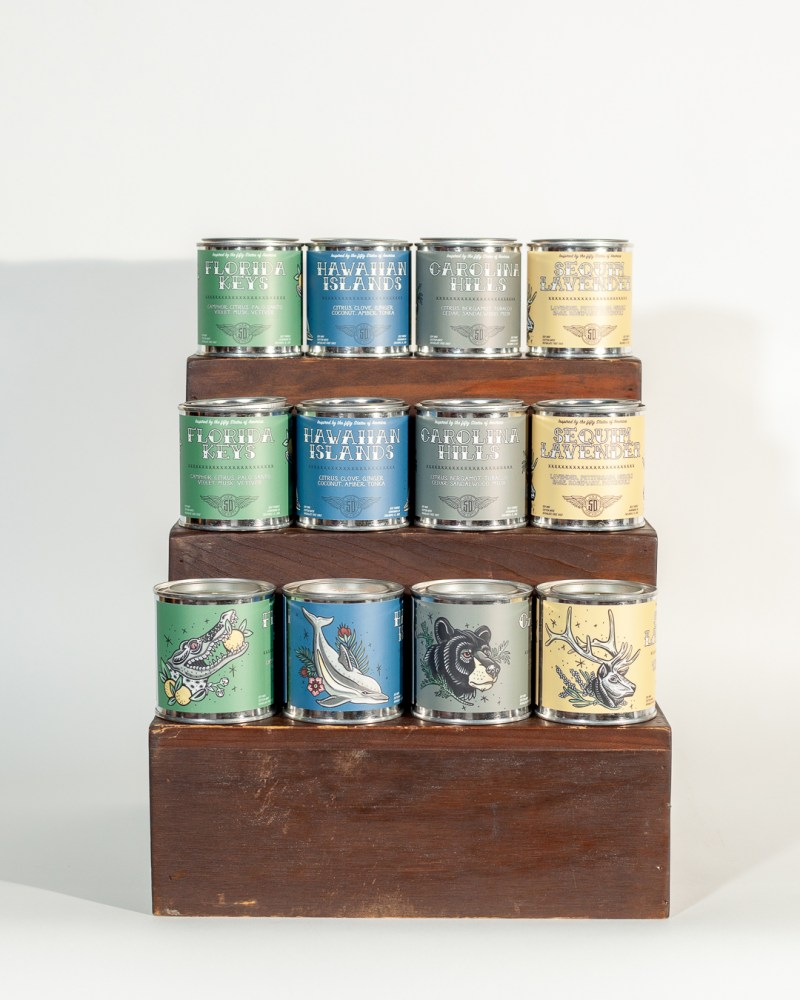 The Fifty Soy Candles