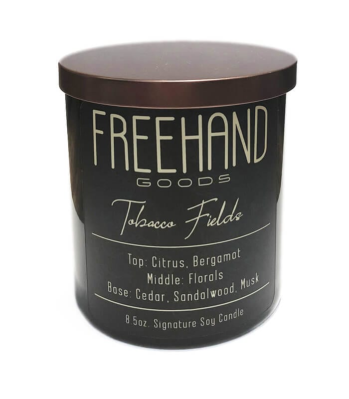 Tobacco Fields Signature Soy Candle