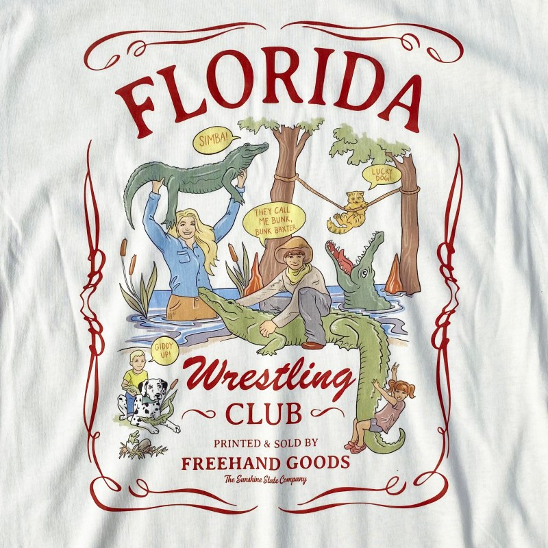 Florida Wrestling Club Tee