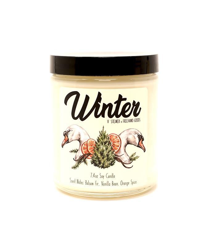 Winter Seasonal Soy Candle