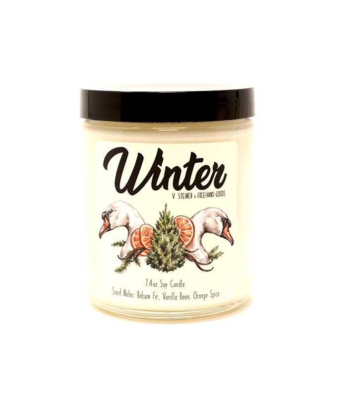 Winter Seasonal Soy Candle