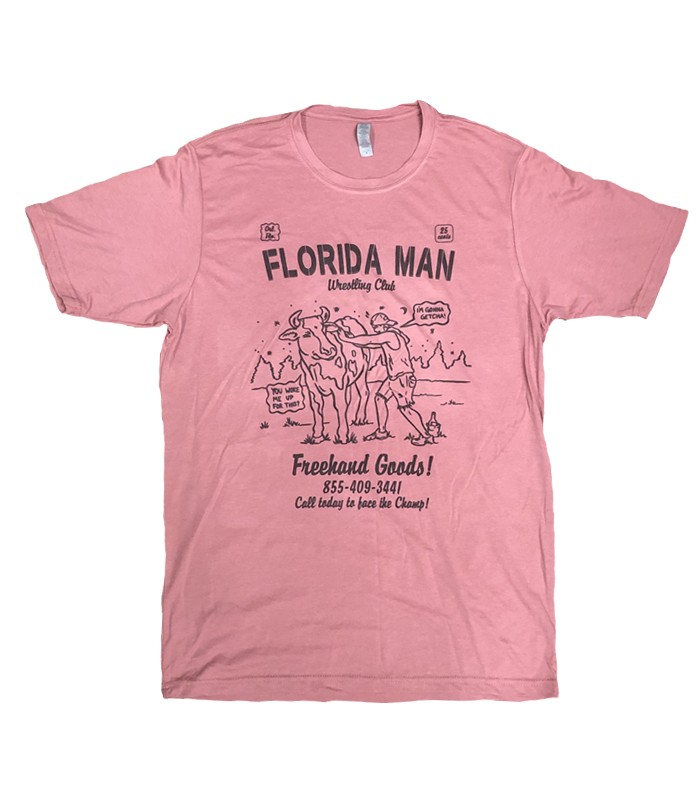Freehand Goods Florida Man Tee Paprika
