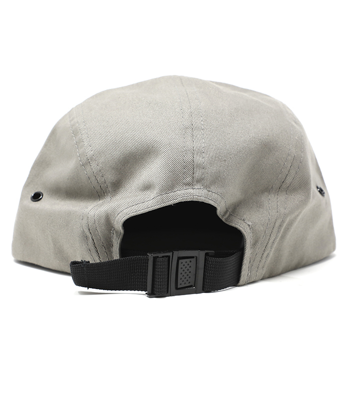 Grey Camper 5 Panel Hat