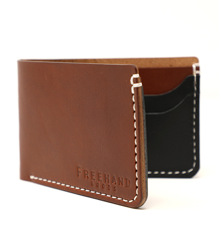 Chestnut Princeton Bifold Leather Wallet