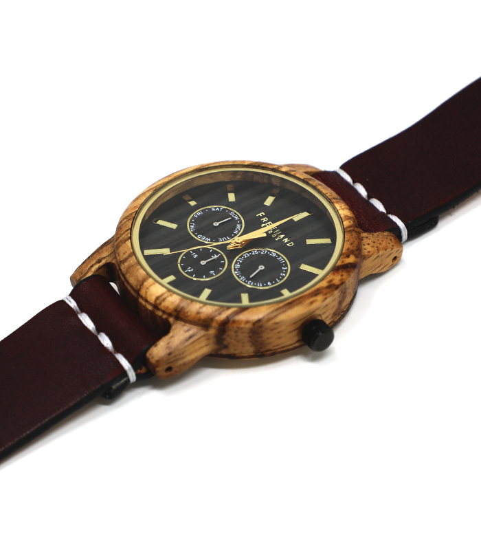 Oxblood Summerlin Leather Watch