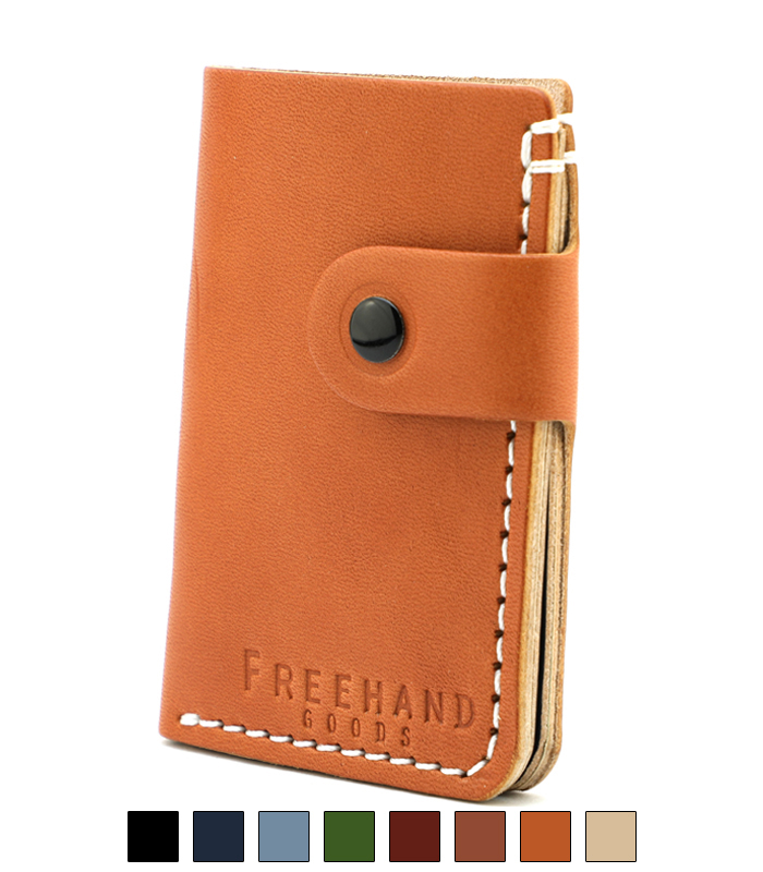 Primrose Snap Leather Wallet