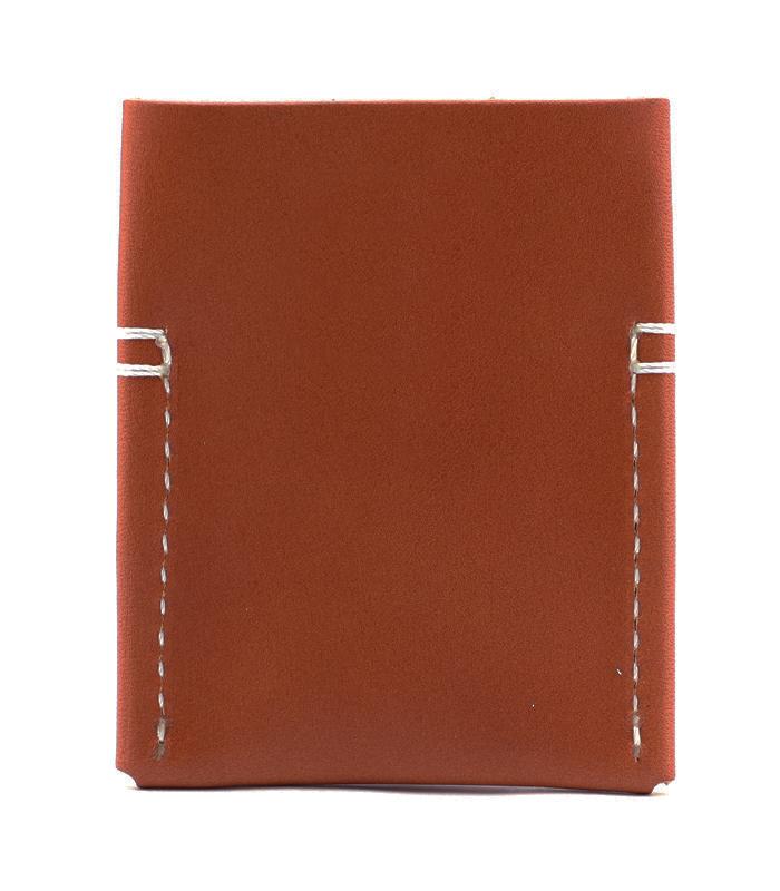 Semoran Leather Cardholder Chestnut