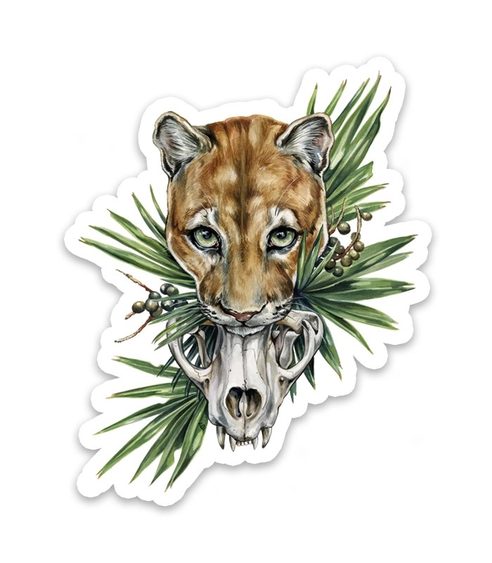 Florida Panther Sticker