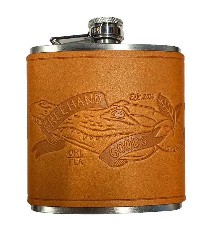 Gator Stainless Steel Flask