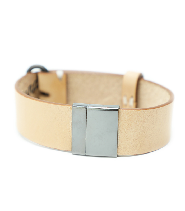 Magnolia Magnetic Bracelet Natural