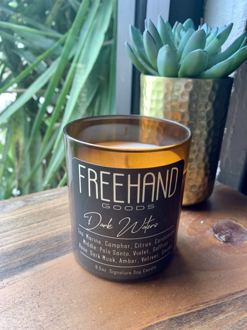Dark Waters Signature Soy Candle