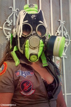 Air Force 1 Gas Mask by Freehand Profit