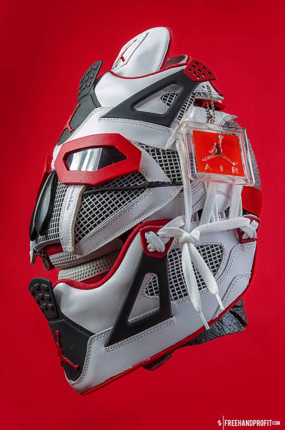 WEB 045 Fire Red Jordan IV Mask 02
