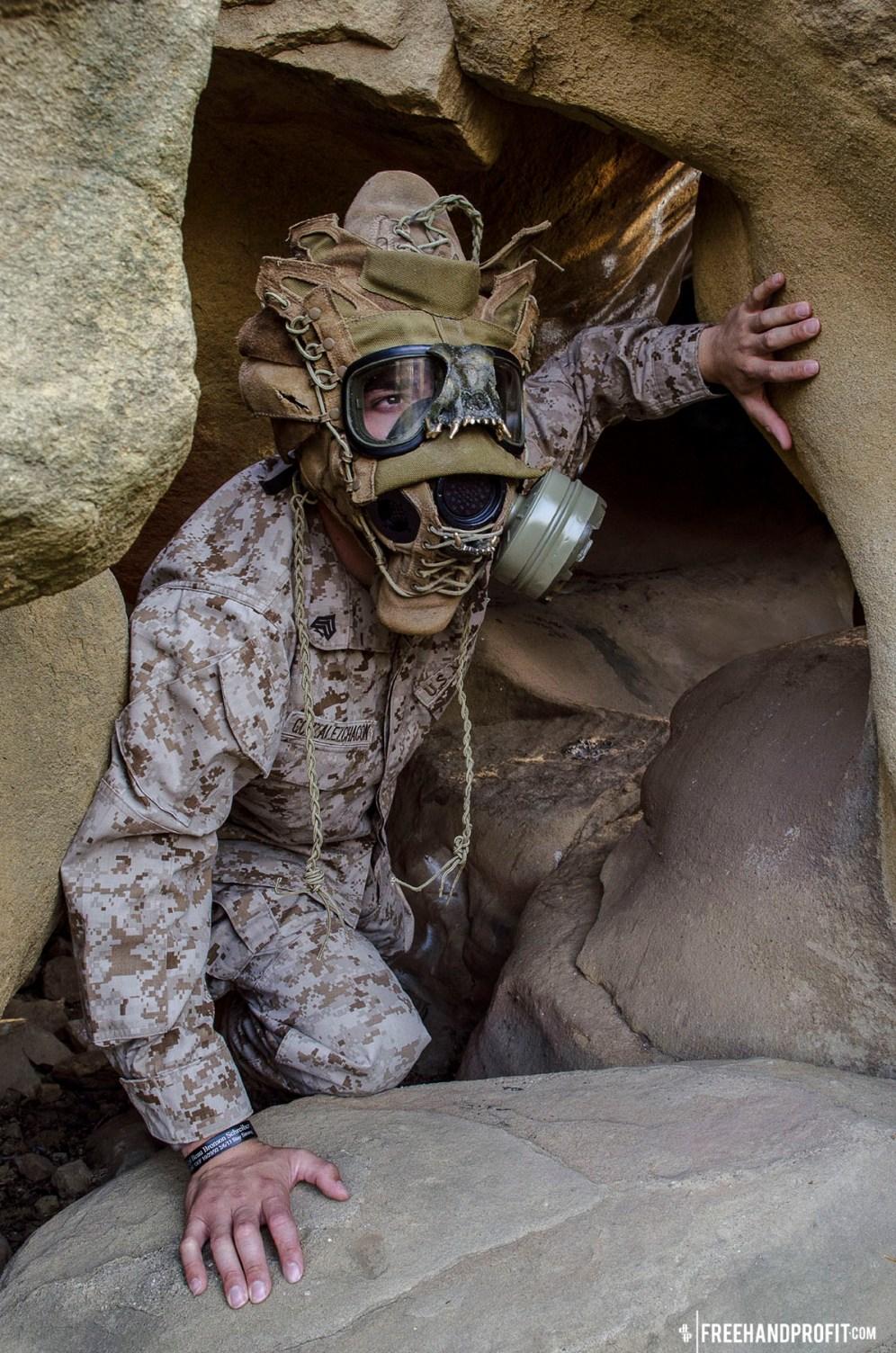 WEB 050 USMC Combat Book Gas Mask 08
