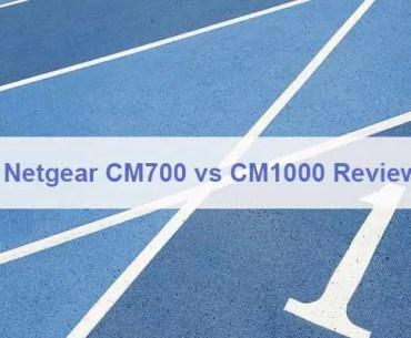 Netgear CM700 vs CM1000