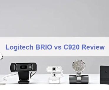 Logitech BRIO vs C920