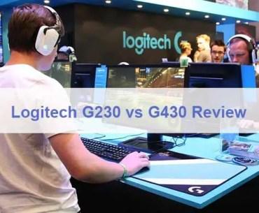 Logitech G230 vs G430