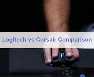Logitech vs Corsair