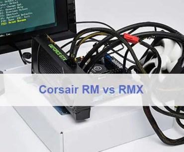 Corsair RM vs RMX
