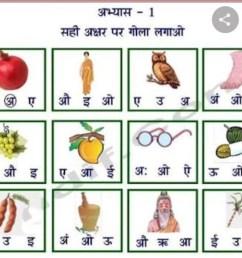 Hindi Pre-Primary Online Classes [ 876 x 1024 Pixel ]