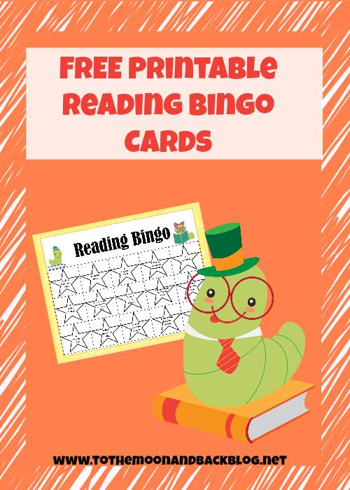 Free Reading Bingo Cards  Free Homeschool Deals