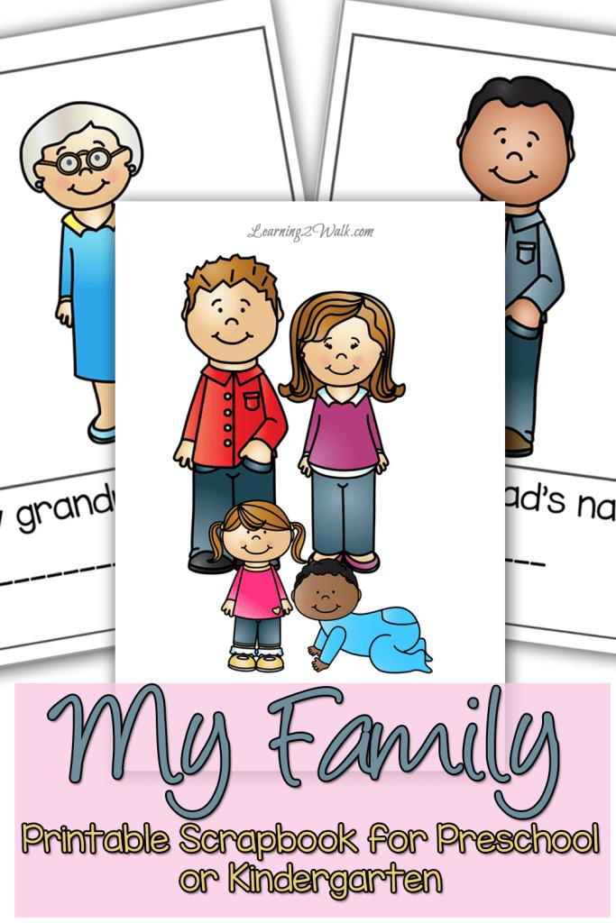 Free My Family Scrapbook For Preschoolers  Free Homeschool Deals