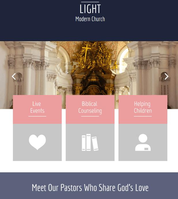Light Free CSS Template