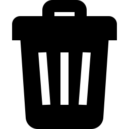 Trash Icon Glyph - Icon Shop - Download free icons for commercial use