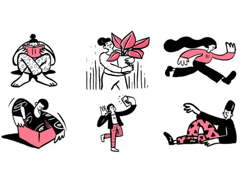 Open Doodles illustrations