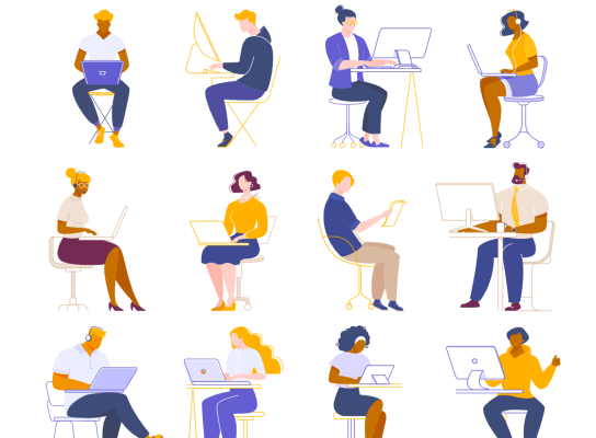 People Working Illustrations