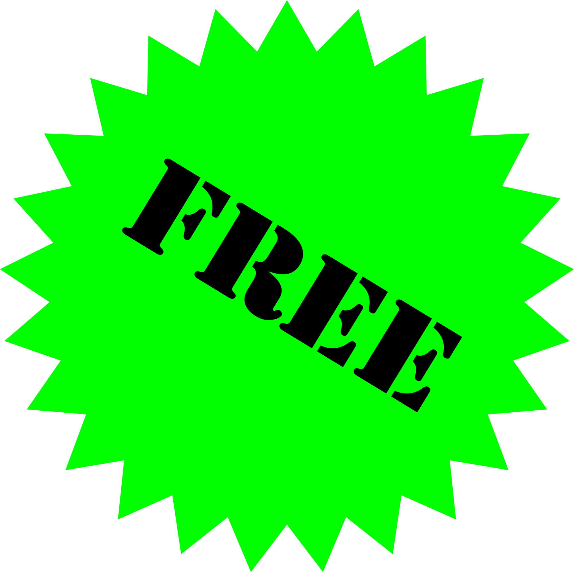 Free Stock Photo 483greensalestarjpg  Freeimageslive