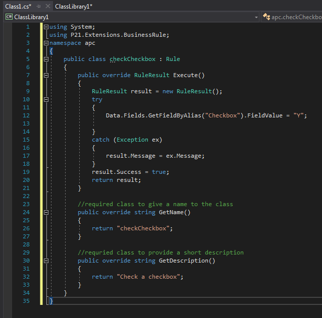 epicor p21 code
