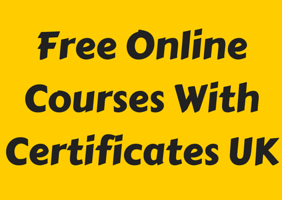 Free Online Courses With Certificates UK (* Unveiled *)