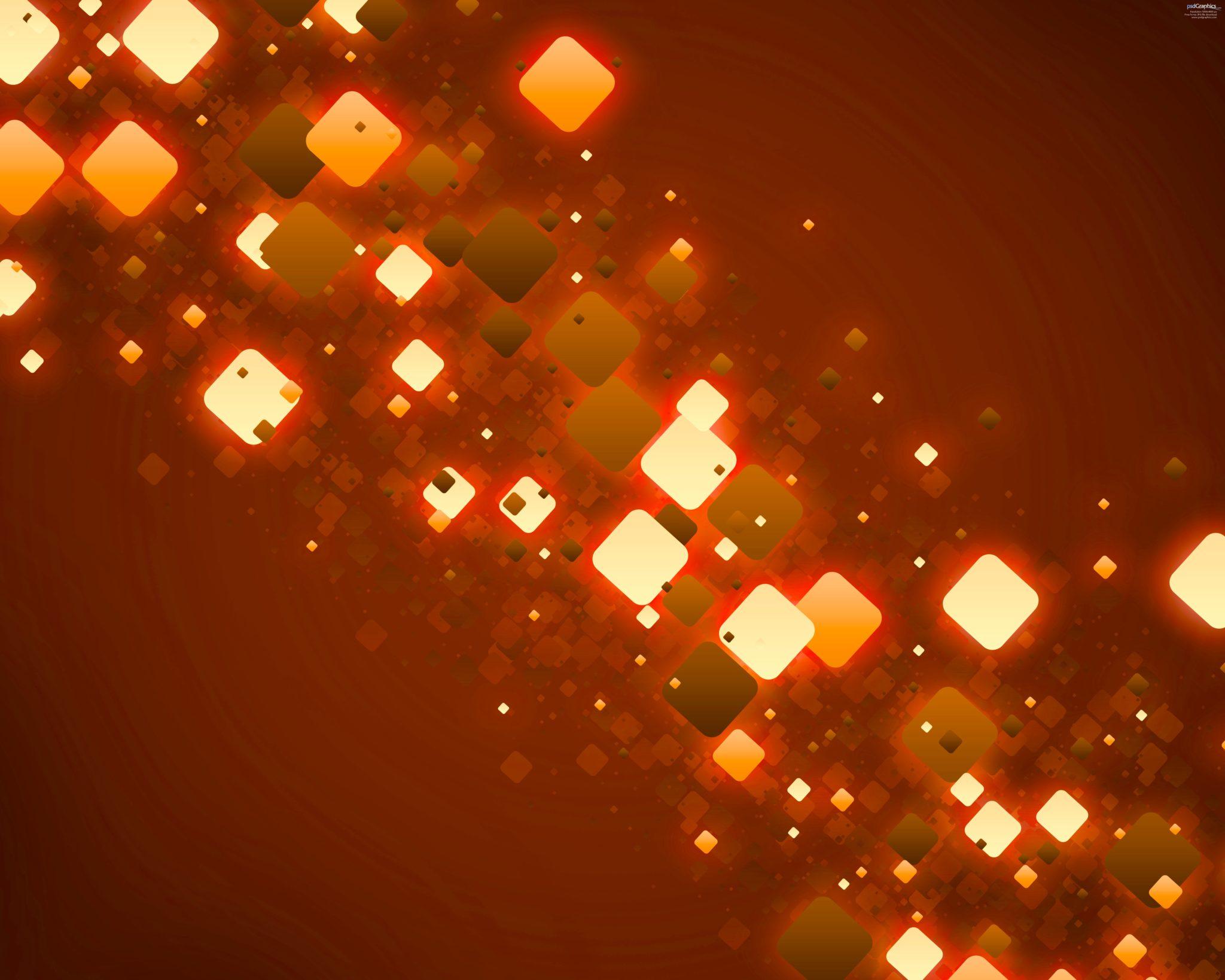 Orange Lights Template for Keynote  Free iWork Templates