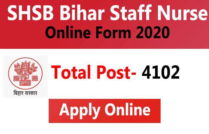 Bihar SHSB Staff Nurse