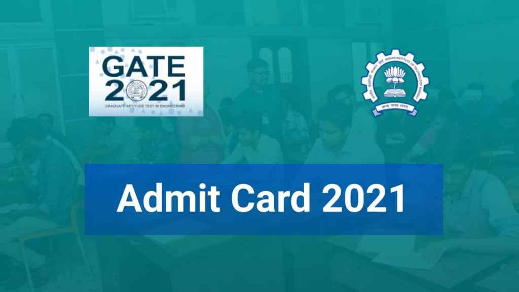 Gate Admit Card Free Job Search