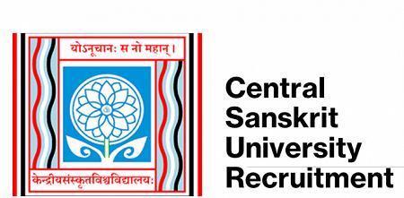 Central Sanskrit University Vacancy 2021