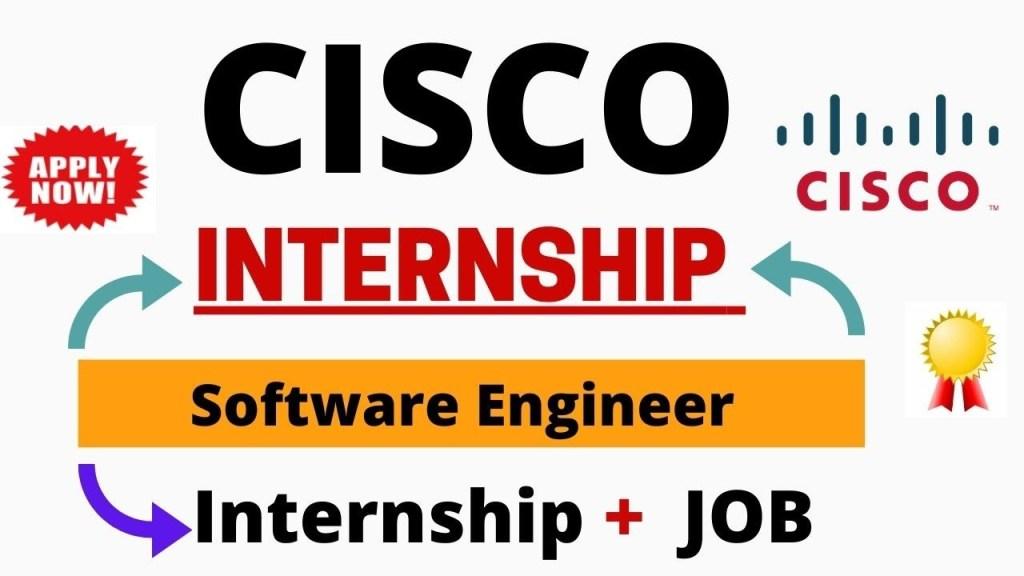 Internship Cisco Batch 2022 free Job Search