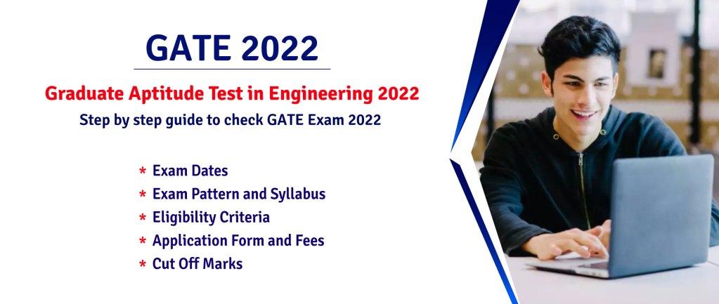 GATE 2022 Online Form 2022