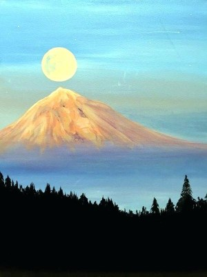 easy painting paintings landscape canvas acrylic paint simple drawing watercolor wine moon beginners inspiration drawings examples classes events paintbar muse