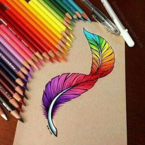 pencil drawings simple creative colorful source
