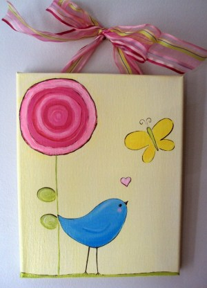 Canvas Painting For Kids Easy