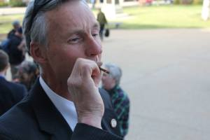 State Rep. Mike Sylvia is no stranger to civil disobedience.