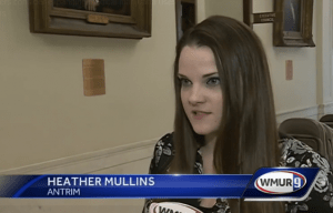 Heather Mullins on WMUR-TV's Cannabis Hearings Coverage