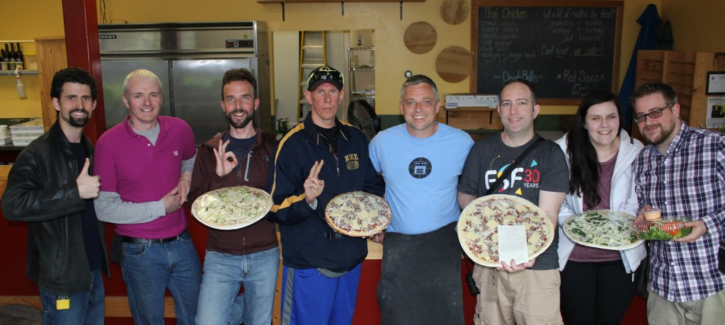 Keene-area Bitcoiners Visit Little Zoe's Pizza!