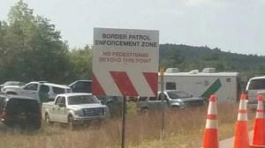 NH Internal Border Patrol Checkpoint