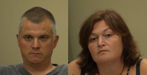 Matthew and Jennifer Schmidt in Keene District Court