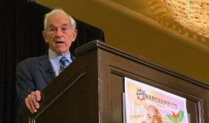 Ron Paul Speaks at Anarchapulco 2018 to a Full House - Photo by Luke Rudkowski