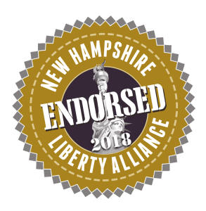 Ian Freeman, NHLA Endorsed Candidate for NH Senate District 10 in 2018.