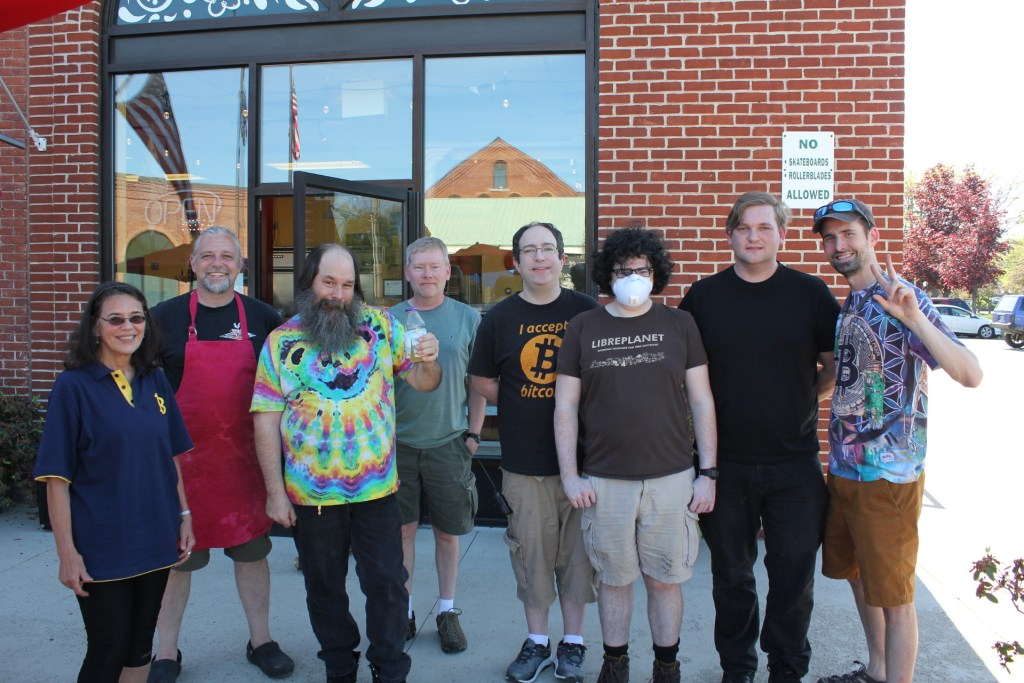 Bitcoin Pizza Day 2020 at Little Zoe's in Keene